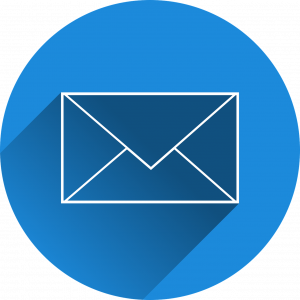 Email symbol (email for use in magazine marketing)