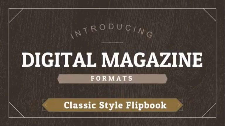 The Classic Digital Magazine Edition Explained