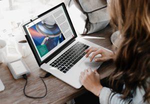 Digital magazine design and production: Fab Shop Direct
