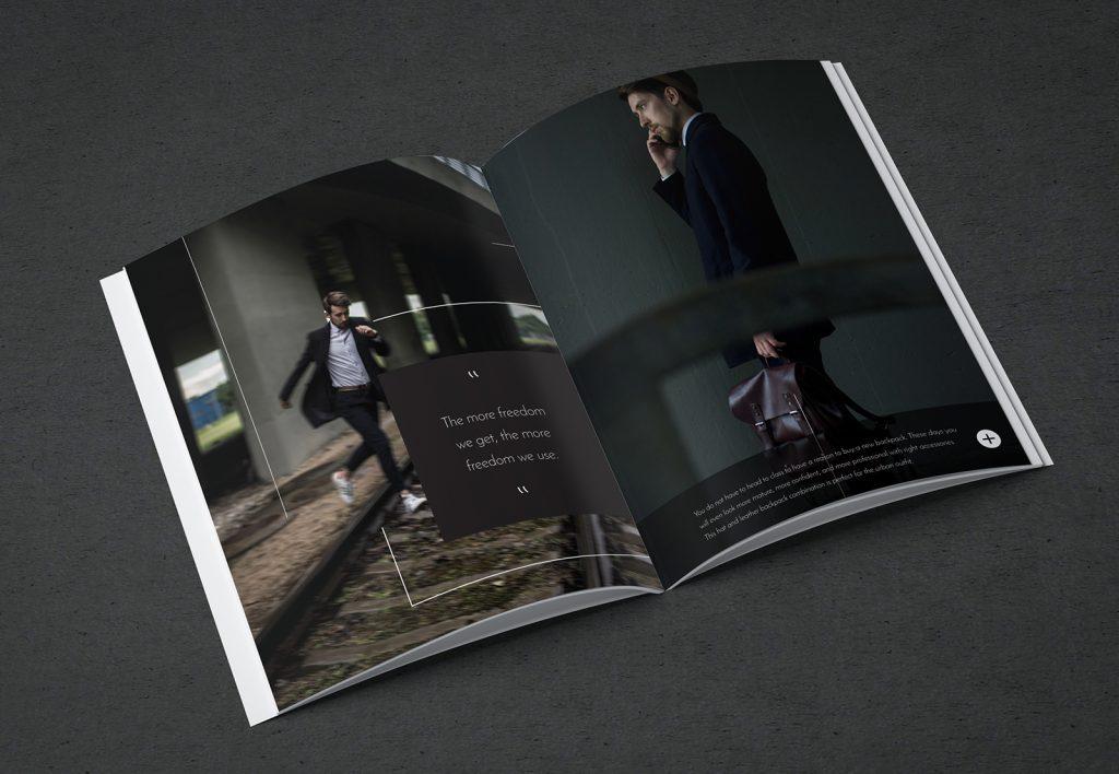 Magazine design: Urban Wolf