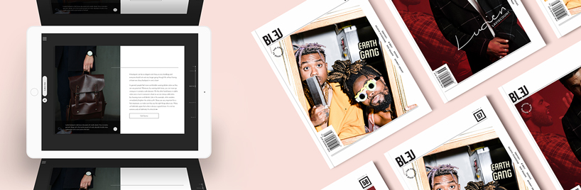 Magazine design portfolio (digital magazine design examples)
