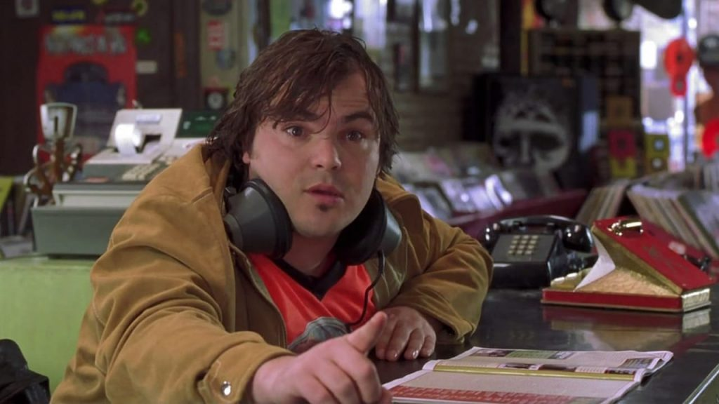 From the movie, High Fidelity
