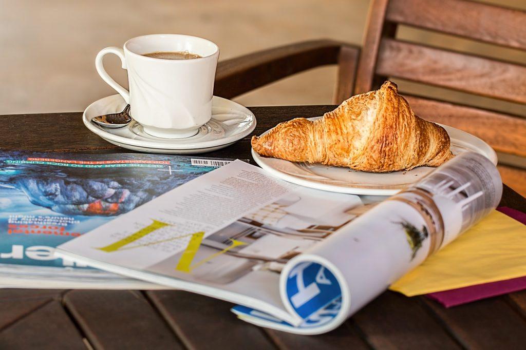 print magazine edition
