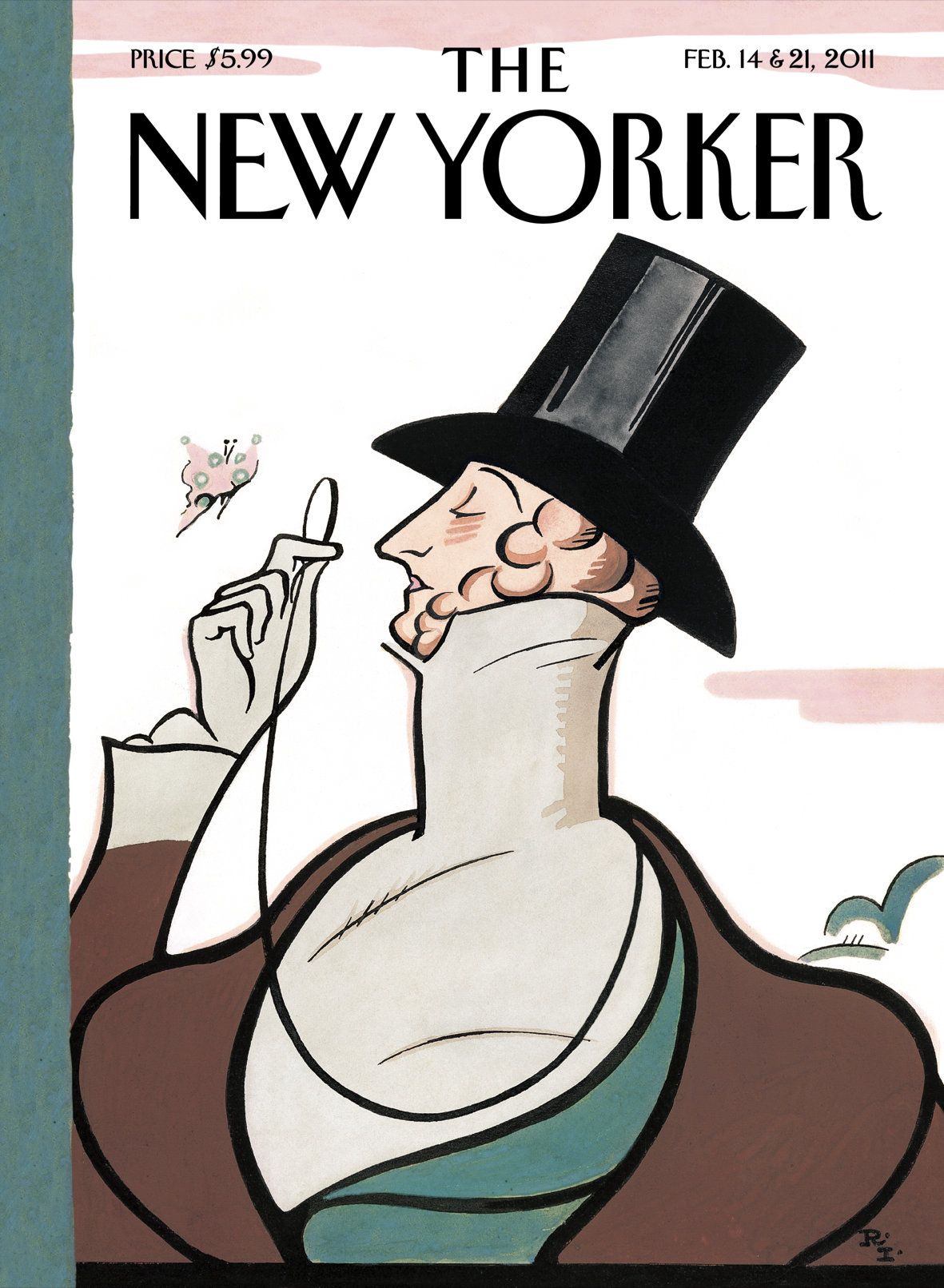 The New Yorker magazine issue cover