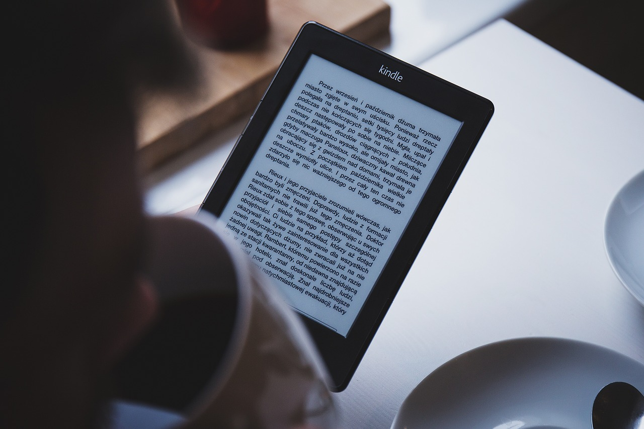 Kindle magazine content