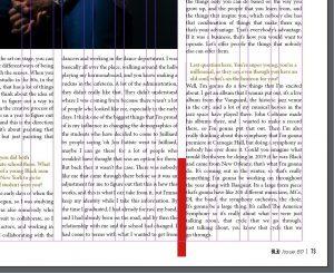 Gutter (magazine terminology)