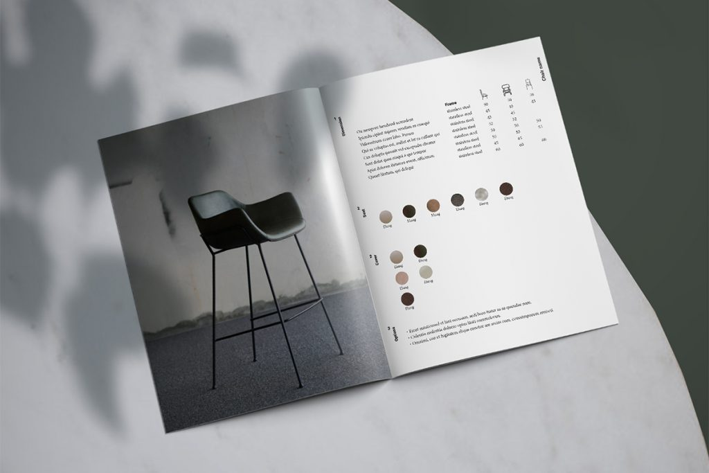 Another product catalog layout design from Flip180