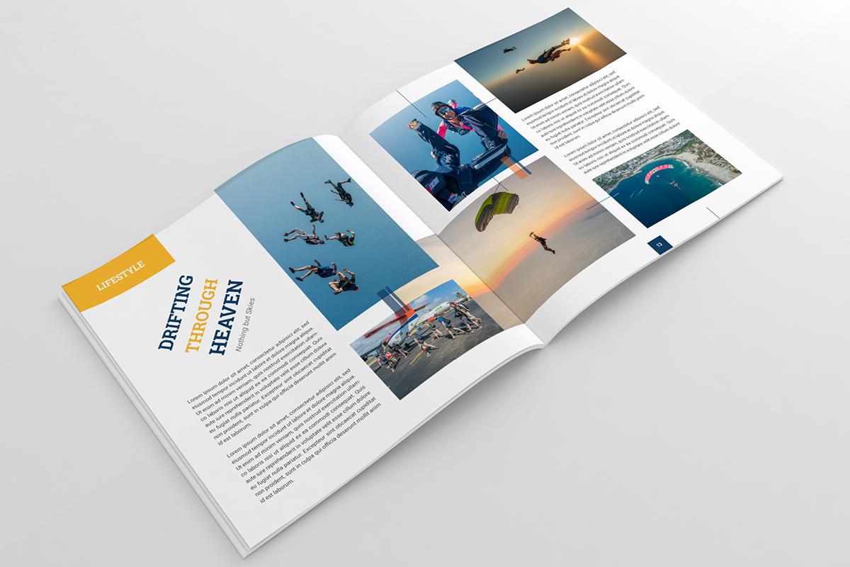 Company Magazines And Annual Reports Portfolio Examples