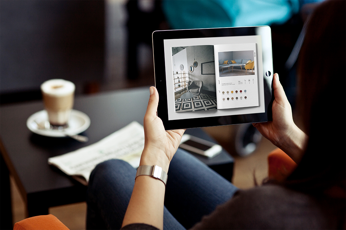Interactive online catalog design