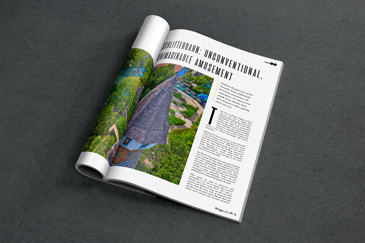 Print magazine ordered from mention in social media