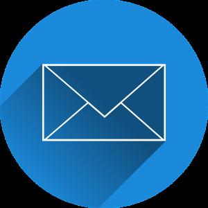 Email symbol (email for use in multiplatform or (multichannel) magazine marketing)