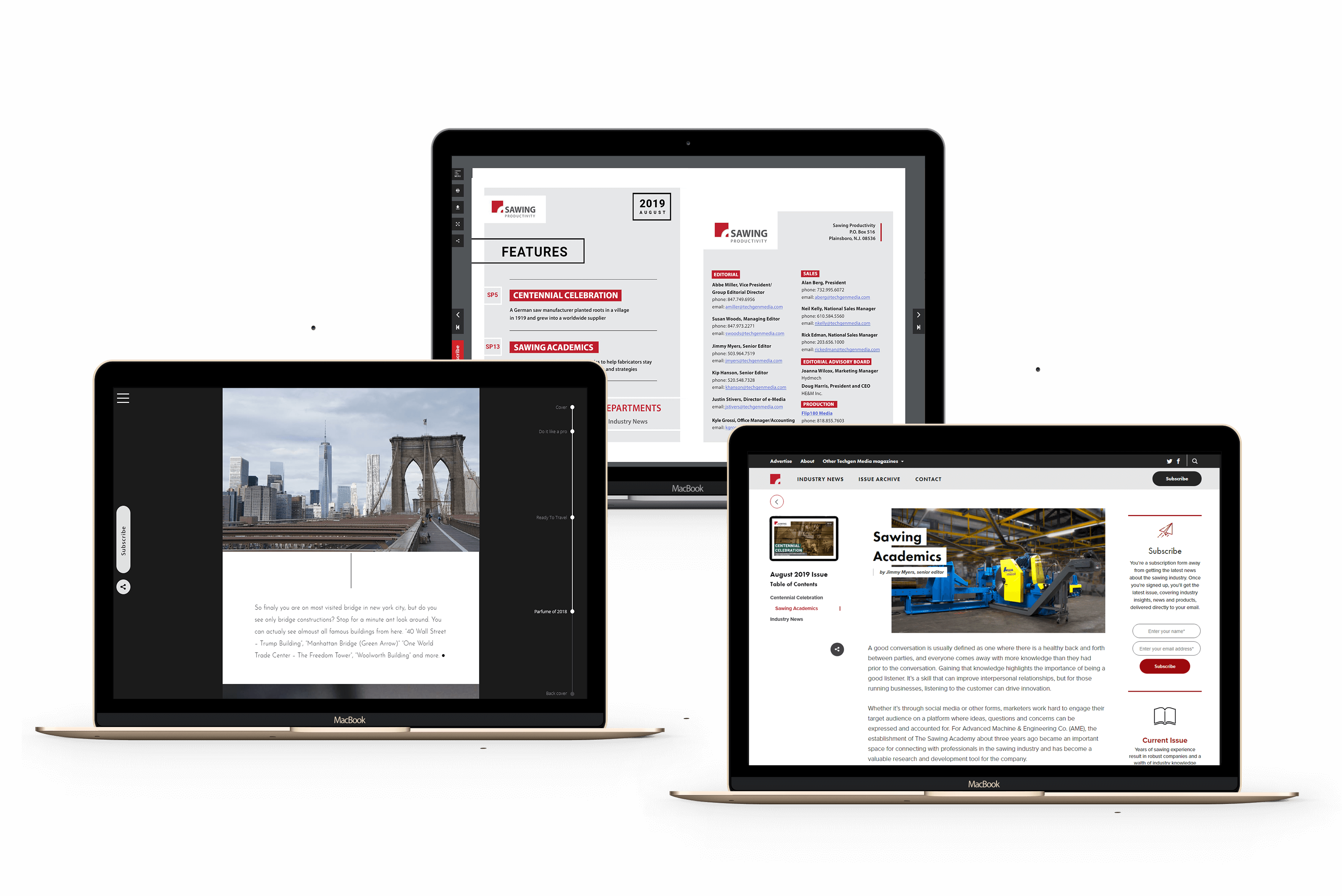 Web design and WebDev publishing tools