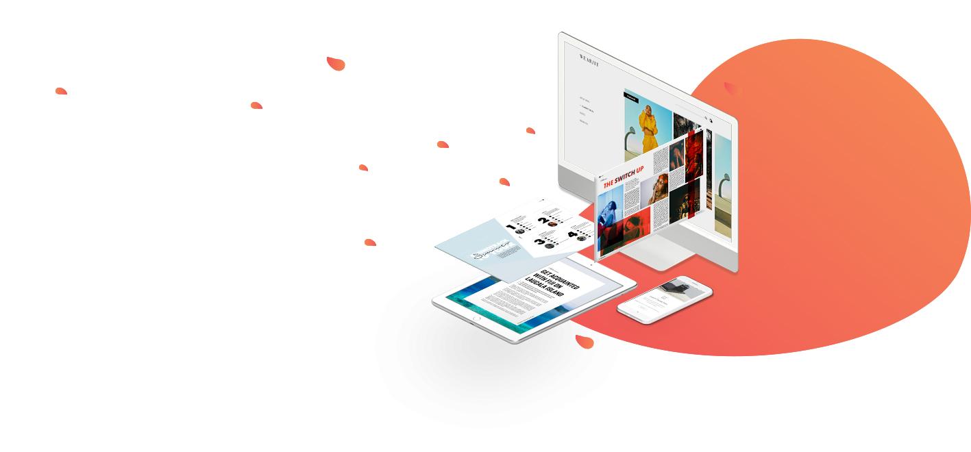 magazine design company