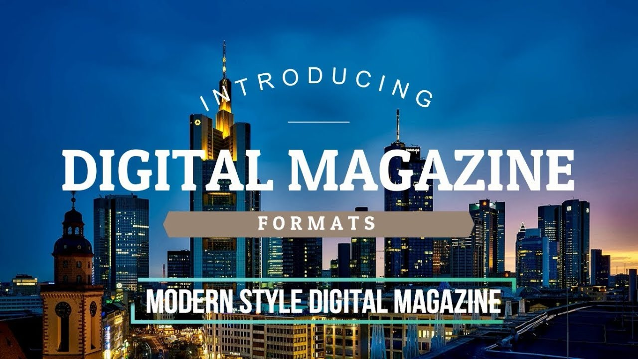 The Modern Digital Edition magazine