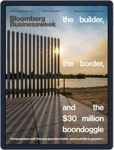 Controversial News Image Magazine Cover (Bloomberg Businessweek)
