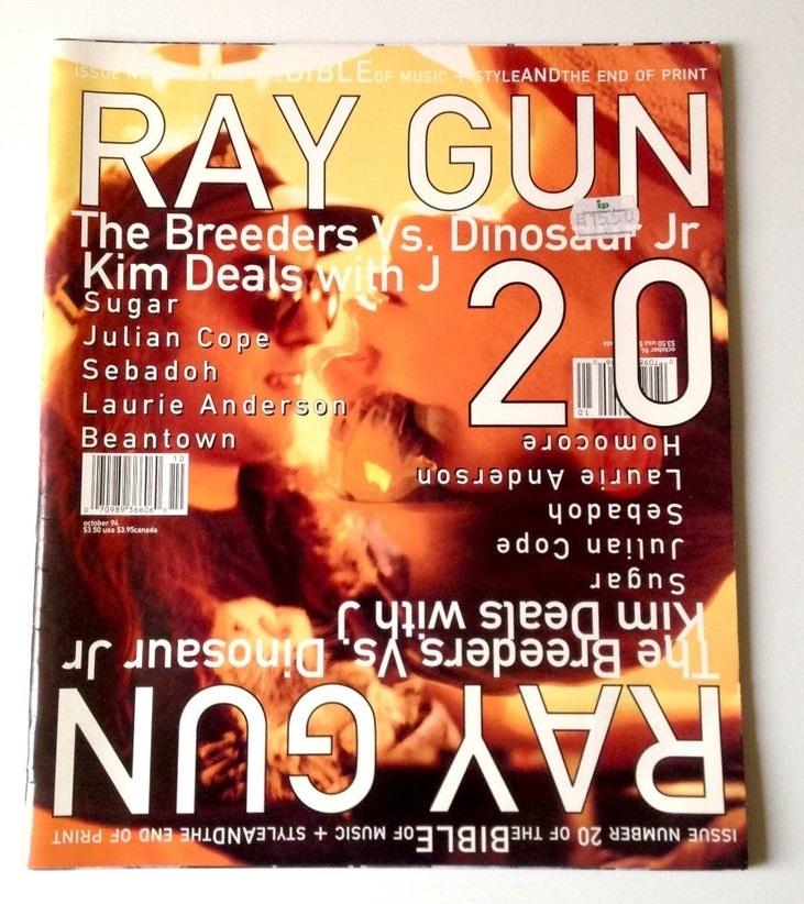 Mirror Image Magazine Cover Idea Example (Ray Gun)