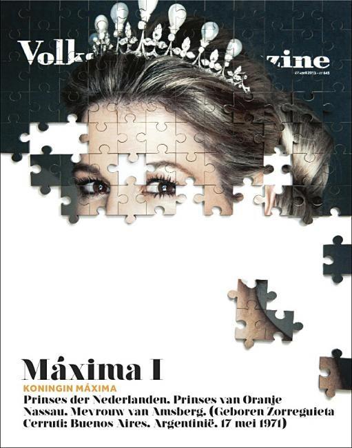 Puzzle Magazine Cover Idea