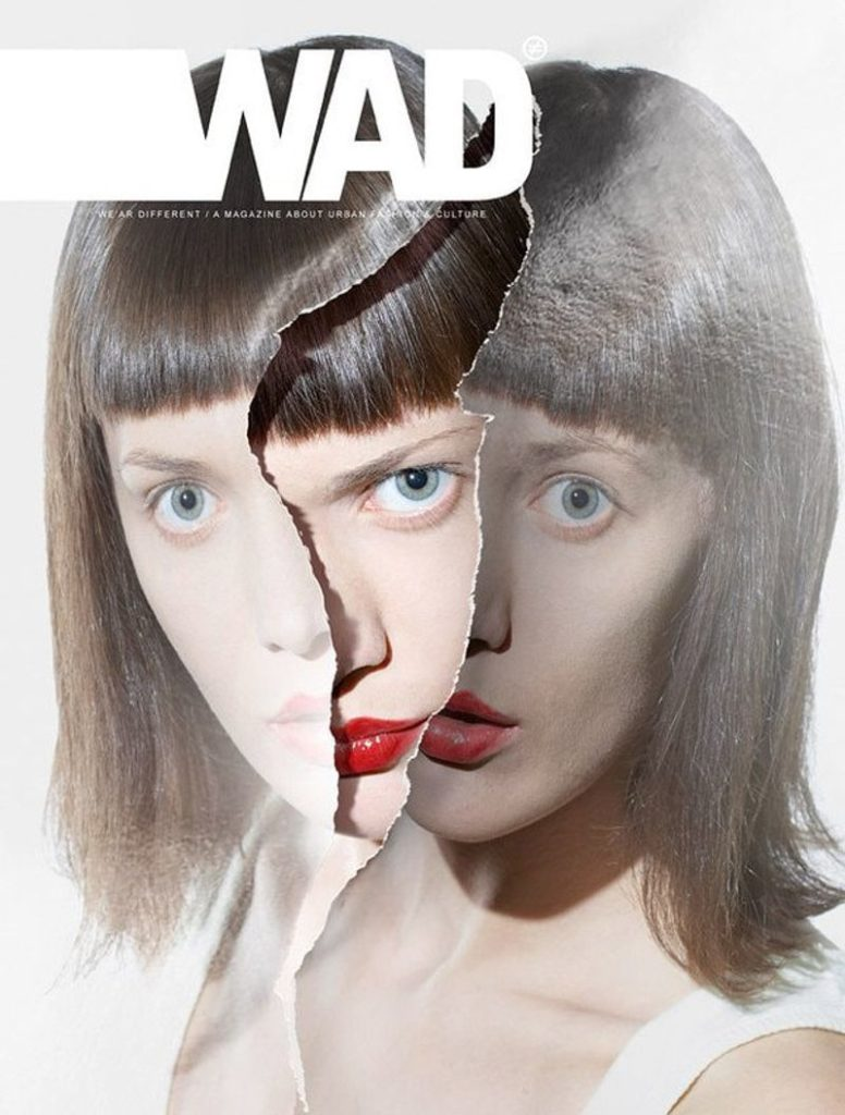 Tear-Away Cover Photo Magazine Cover Image (WAD Magazine)