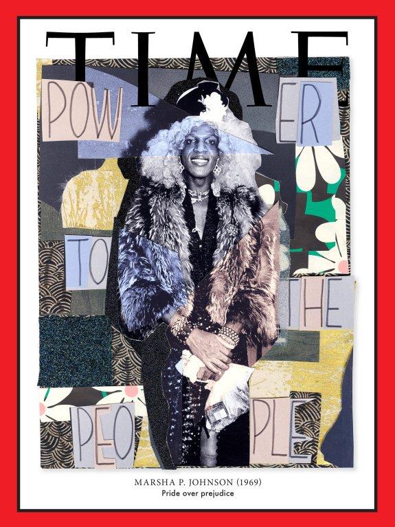 Collage Art Genre Photo Cover Idea (Time Magazine)